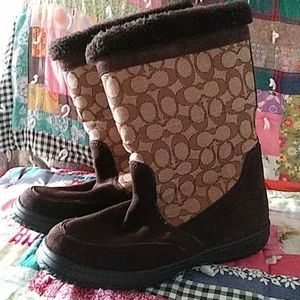 Coach Women's Winter Boots size 8